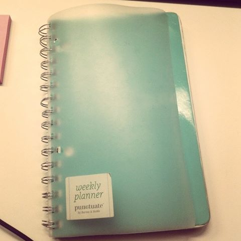 #UpgradingMyself: My Planner