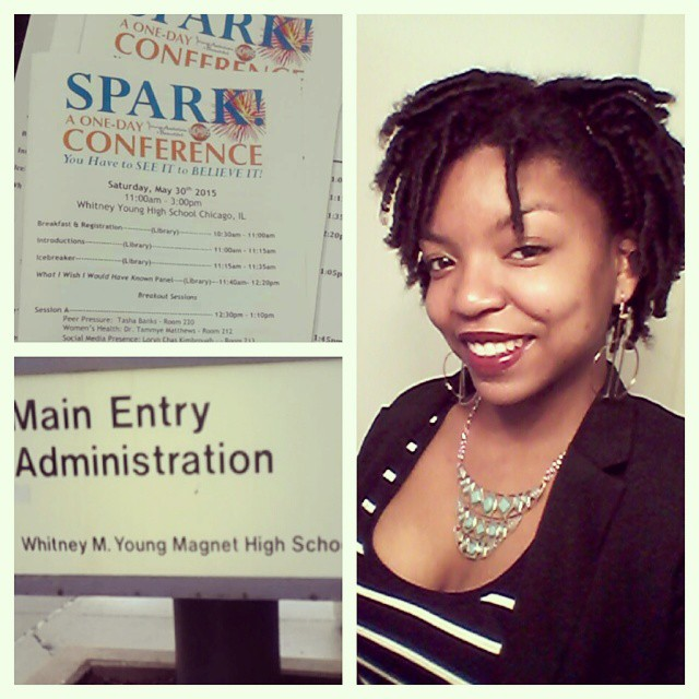YAB Spark Conference at Whitney Young High School