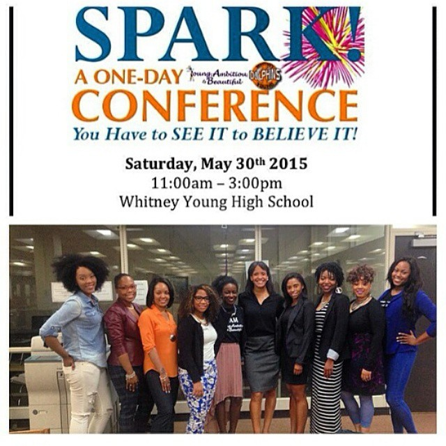 Panelist for Whitney Young High School & YAB's Spark Conference