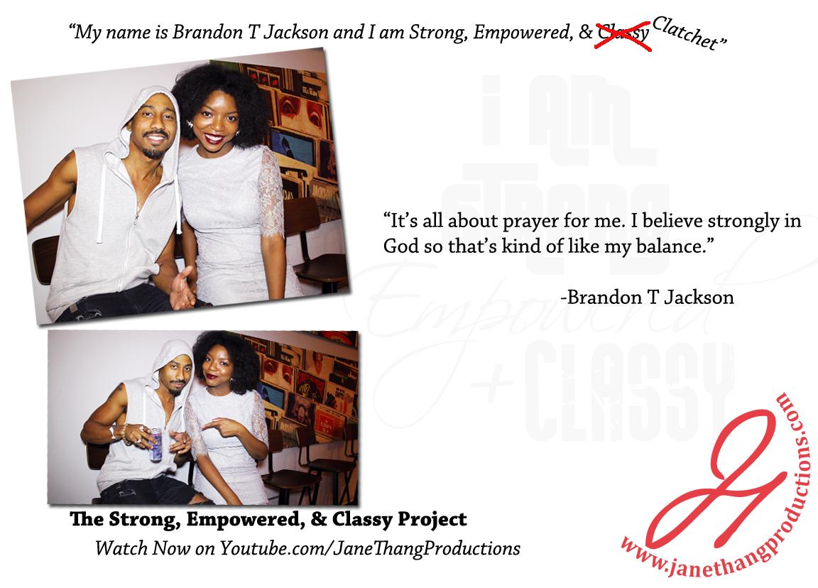 Brandon T Jackson Interview