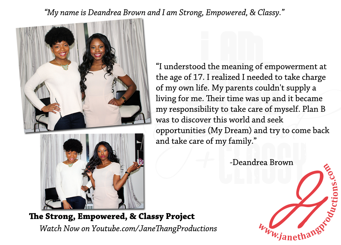 Deandrea Brown Interview