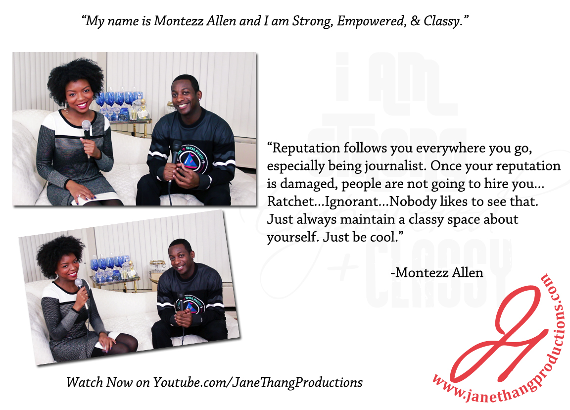 Montezz Allen Interview
